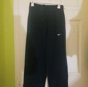 Black & Gray Nike Sweatpants